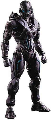 Halo Xhalozzz19 5-Play Arts Kai Spartan Locke Action Action Action Figure | Une Performance Fiable
