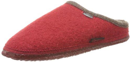 Giesswein Dannheim 42084, Pantofole unisex adulto Rojo