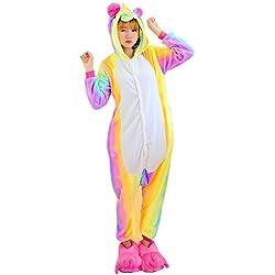 Pijama Unicornio Unisexo Adulto cartoon Pyjamas Animal Disfraz Cosplay Traje de Navidad