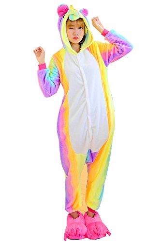 Combinaison Licorne Pyjama Adulte - Unisexe Animaux Unicorne Costumes Déguisement Cosplay Vêtements
