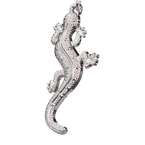 """nanomondo Schlüsselanhänger """"Salamander"""" aus Metall N1048"""