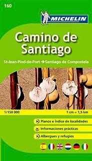 Carte ZOOM Camino de Santiago