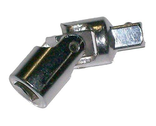 Quadratischen Sockel (faroh skuj 1/2Dr Universal Kreuzgelenk Sockel quadratisch Drive–Silber)