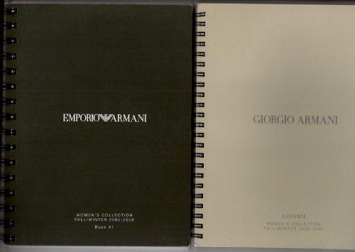 Emporio Armani - Women's Collection Fall / Winter 2005-2006 Book 1 + Book 2: Giorgio Armani - Aggiunte (2 Exemplare)
