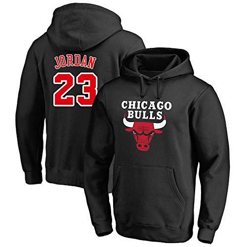 CAISHEN NBA Chicago Bulls 23# Jordan Herren-Basketball-Trikot Herren-Fans Unisex - Basketball Training Hoodie