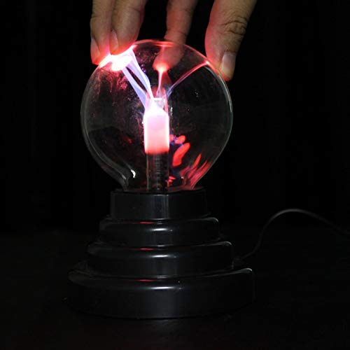 VIDOO 3 inch USB Plasma Ball Sphere Lightning Light Magic Crystal Lampe Globe Laptop