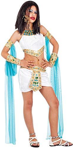 94ca44103376 Costume di Carnevale da Cleopatra Vestito per Ragazza 12-16 Anni  Travestimento Veneziano Halloween Cosplay