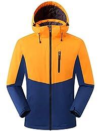 e6c4a0c502 Eono Essentials, giacca da sci, da uomo, colore arancione, taglia M