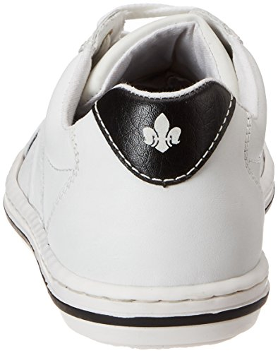 bianco 80 Homme Nero Bassi Blanc 19006 Rieker Sneakers a7wxAqvwZ