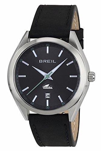 Breil orologio analogico quarzo uomo con cinturino in pelle tw1613