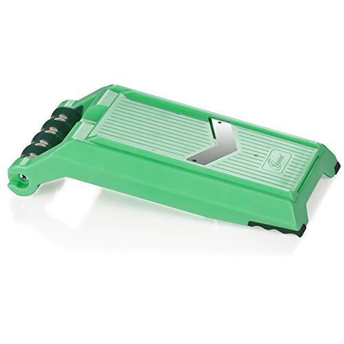 Genius Nicer Dicer Chef Speed Slicer | verstellbarer Hobel inkl. Handy Hopper | 2 Teile | Bekannt aus TV | NEU