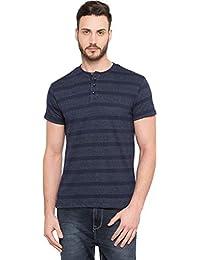 Globus Striped Polo Neck T-Shirt