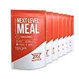 Runtime Next Level Meal Original - vollwertiger Mahlzeitersatz für langanhaltende Sättigung, Energie, Konzentration und Leistungsfähigkeit, mit Vitaminen und Nährstoffen, 7x 150g
