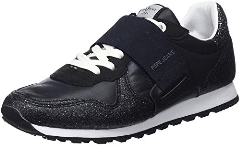 Pepe Jeans Elastic, Verona W New Elastic, Jeans Sneakers Basses FemmeB079RWRD72Parent 4dc9c2