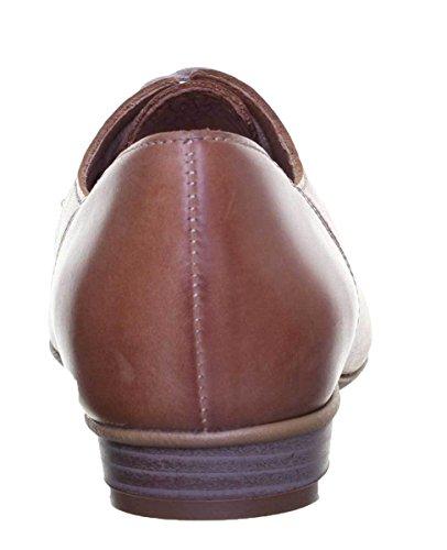 Justin Reece Aneta, Chaussures de ville à lacets pour femme peau