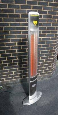 1.800 Watt Firefly™ Infrarot-Heizstrahler (Halogen) Terrassenheizung, freistehend, 2 Leistungsstufen, inkl. Fernbedienung - 5
