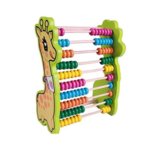 Hölzerne frühe pädagogische Multicolor Bild Rechnerische Rack-Spielzeuge