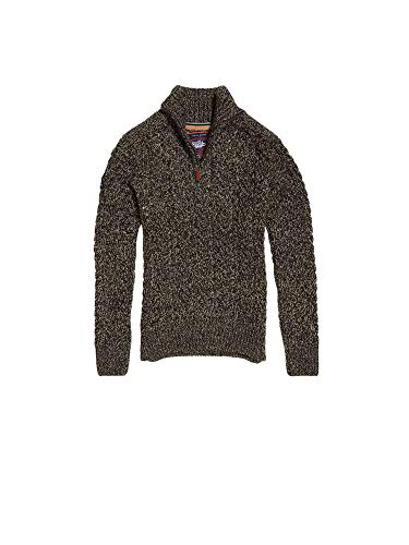Superdry-Pullover Anthrazit Jacob Henley XL
