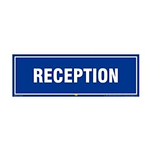 Mr. Safe – Reception Sign PVC Sticker 12 Inch X 4 Inch