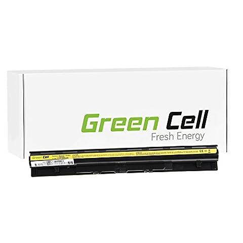 Green Cell® Standard Series L12S4AO2 Battery for Lenovo Laptop (4 Cells 2200mAh 14.4V Black)