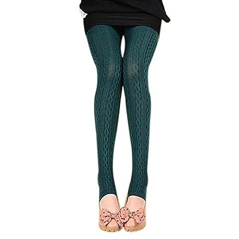 1pièce Omiky® Skinny solide Legging, haute Taille haute élastique Jeggings