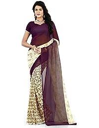 52e290a430 Chirag Sarees Net Multi-Colour Urvashi Saree Best Deals With Price ...