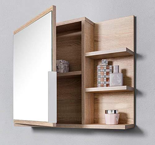 R DOMTECH Home Decor Badezimmer Spiegelschrank mit Ablagen ...