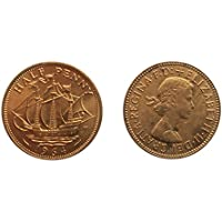 Monete per collezionisti - Uncirculated britannici 1964 Half Penny / Halfpenny Coin / Gran (Mint Uncirculated Coin)