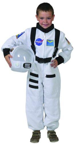 (Generique - Weißes Astronaut Kostüm für Kinder 116 (6-7 Jahre))