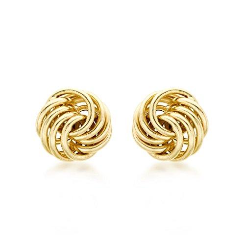 Carissima Gold Damen - Ohrringe 18 k (750) Rundschliff Diamant 7.55.0159 (Ohrringe Gold 18k)
