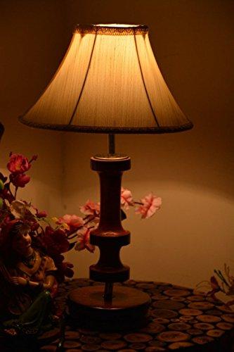 YASHASVI KHADI WOODEN TABLE LAMP