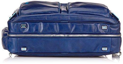 Piquadro Blue Square Aktentasche Leder 41 cm Laptopfach Blu