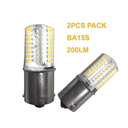mpe SMD3014Warm Weiß 2700–3000K DC12V AC12V Boot Licht Ersatz Leuchtmittel für Auto RV Camper SUV MPV Auto Drehen Schwanz Lesung Backup Lights 360° Beam (12volt Led-leuchten Für Camper)