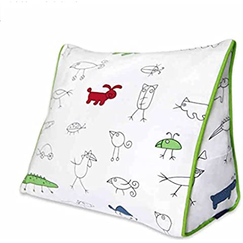 FANG&cuscino Tempo libero Comodino Triangolo cuscino cuscino lombare cuscino regalo dell'uccello del fumetto cotone dal pacchetto Cuscino sul letto ( dimensioni : S. )