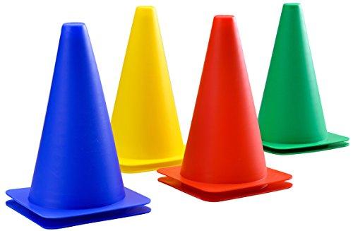 ***EINFÜHRUNGSANGEBOT*** Activity Cones für Kinder - Komplettset mit 8 Stück. Eine große Reihe von Outdoor-Spielzeug Cones, geeignet für Obstacle Courses - Qualität Outdoor-Garten-Spiele seit 1795