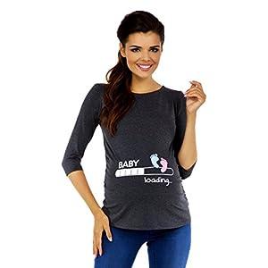 Zeta-Ville-Premam-T-shirt-Camiseta-divertido-estampada-para-mujer-549c-Grafito-EU-4650