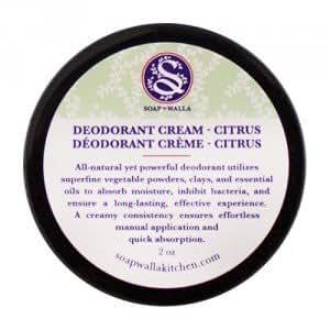 SOAPWALLA Déodorant crème Citrus - 57g