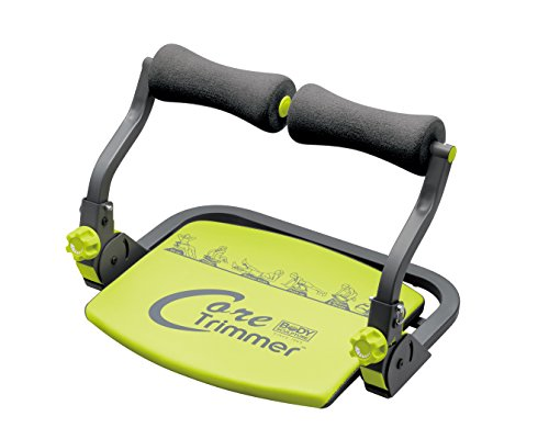 Body Sculpture Core Trimmer 28518, 6in1 Fitnessgerät, Bauchtrainer Beintrainer Rückentrainer und Schultertrainer in einem, idealer Muskeltrainer für Zuhause - bis 120kg - klappbar inkl. DVD (Ab Trimmer)