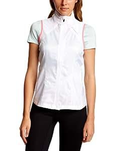 Brooks Women's LSD Lite Vest Running Gilet - White/Britepink, Large