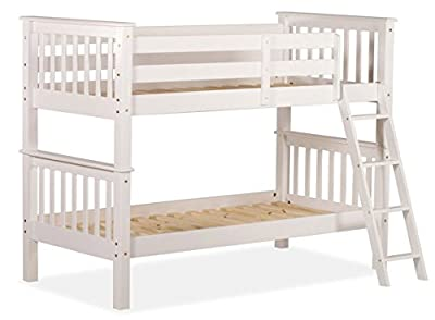 Amani Oxford Single Bunk Bed - No Drawers - low-cost UK light store.