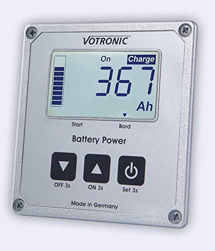 Votronic 1263 LCD-Batterie-Computer 100 S Smart Shunt und Masseband