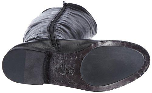 Kennel und Schmenger Schuhmanufaktur Stone Damen Langschaft Stiefel Schwarz (Schwarz)