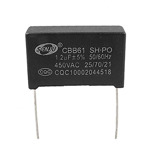 Fan CBB61 unpolare 2 Pins 1.2uF 450V AC Motor Running Capacitor