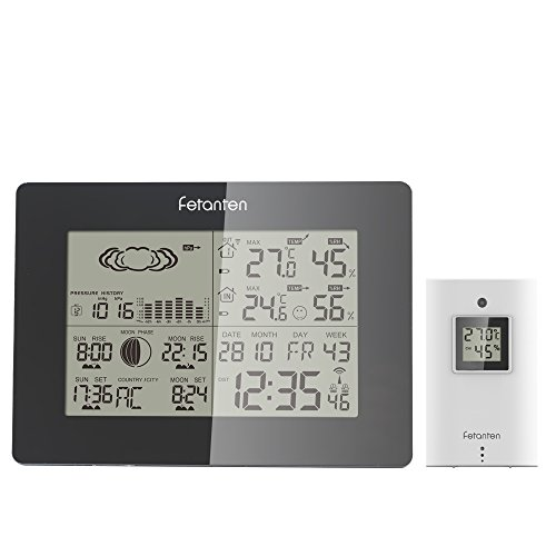 Fetanten Termometro Digital Estacion Meteorologica