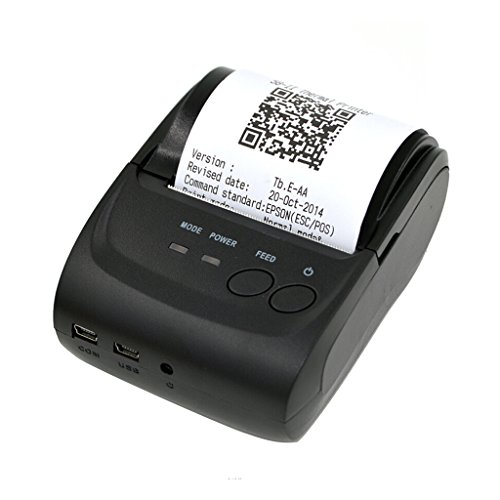 Gazechimp Bluetooth Thermodrucker Kassendrucker Bondrucker POS Receipt Thermal Printer