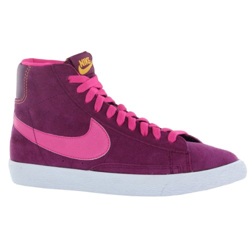 Nike - Blazer Mid Vintage (GS), Alte Scarpe Da Ginnastica da Bambine e ragazze ciclamino