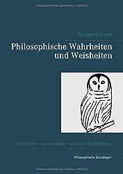 Philosophische Wahrheiten und Weisheiten