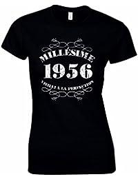 T-Shirt Femme Anniversaire 60 Ans Millésime 1956