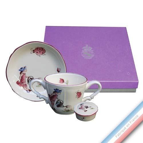 Collection Coffrets Enfants - Set Kinder - Tasse/Ass. Mini/BTE Milchzahn, für Mädchen, 17 x 17 x 5 cm, 1 Stück - 5 Stück Coffret