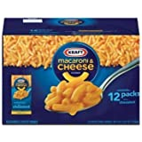 Kraft Macaroni & Cheese Dinner - 12/7.25oz by Kraft